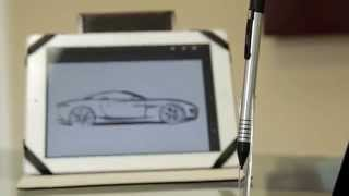 Rechargeable Apex Fine Point Stylus for iPad by Lynktec