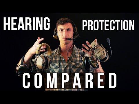 Hearing Protection Compared (Peltors, Ops Core AMP, Sordin, Liberators)