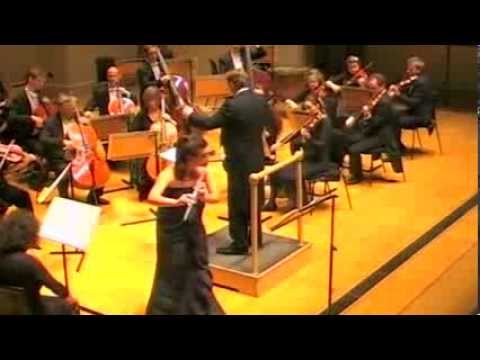 Myslivecek Flute Concerto. i. Ana de la Vega, English Chamber Orchestra