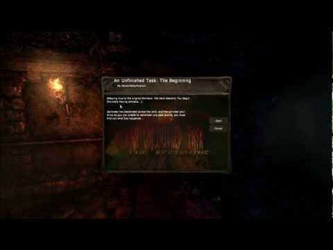 """Let's Play Amnesia Custom Story: An Unfinished Task Part 1 """"Man things are creepy here!"""""""