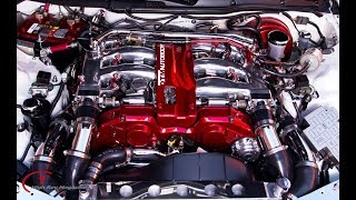 Дрифт-гараж - 2й сезон серия 2 - установка твин-турбо на ДВС Nissan 500 л.с.