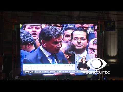 O Voto Dos Deputados Paranaenses - Praça Santos Andrade