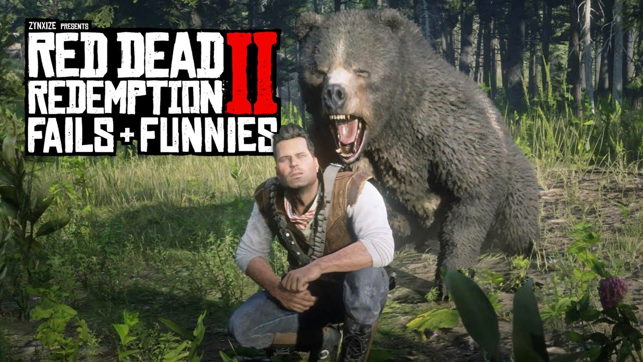 Red Dead Redemption 2 - Fails & Funnies #138 thumbnail