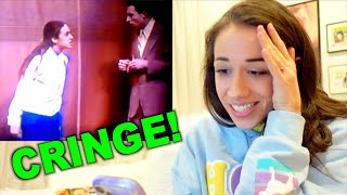 REACTING TO MY HIGH SCHOOL TALENT SHOW PERFORMANCE!