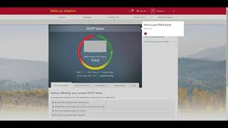 how to view your credit score (FICO score) for free via WellsFargo @wellsfargo
