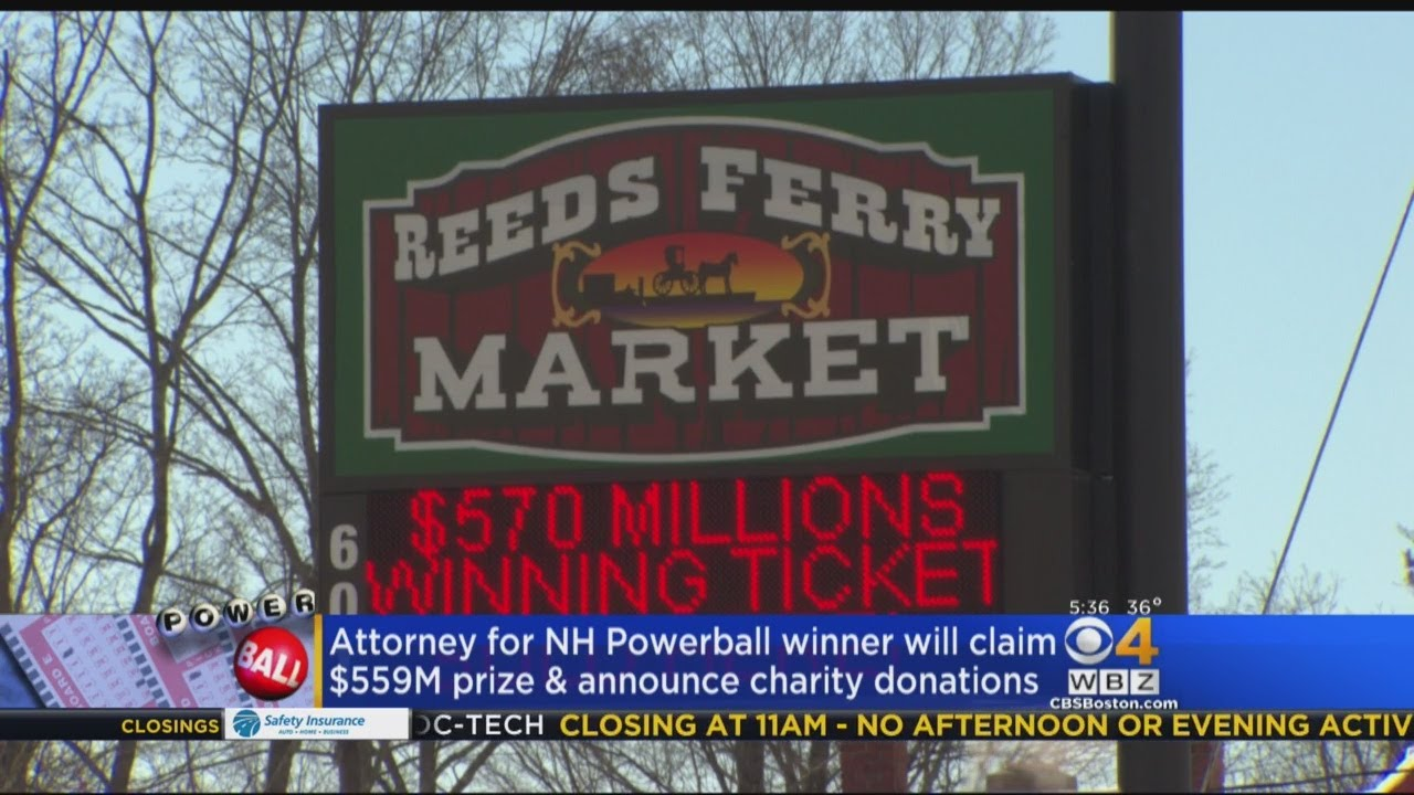 Mystery New Hampshire Powerball Winner To Announce Donation