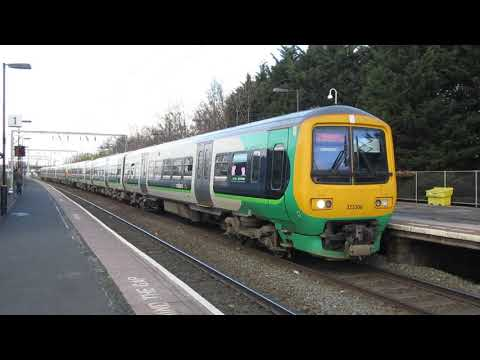 Class 323 departing Aston station - nice motor sound!