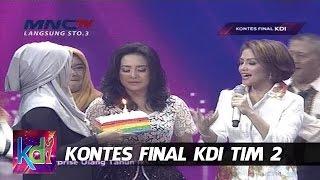 Surprise Ulang Tahun Ikke Nurjanah - Kontes Final KDI (18/5)