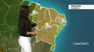 Previsão Nordeste – Chuva no Maranhão