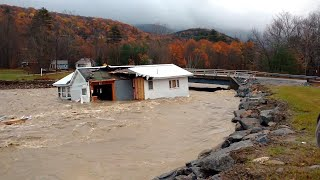 Watch Home Get Swept Away in Storm