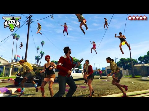 GTA 5 Falling HOOKERS Map!!! | GTA 5 Max Torque EPIC NEW MAP Playlist! | GTA 5 PS4 Funny Moments