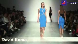 David Koma - Spring Summer 2015 Full London Fashion Runway Show