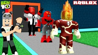 Ben 10 Superhero Factory! - Roblox Ben 10 Tycoon with Panda