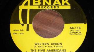 Five Americans - Western Union 45rpm