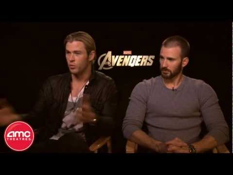 Chris Hemsworth & Chris Evans Talk AVENGERS With AMC