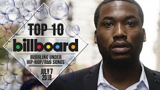Baixar Top 10 • US Bubbling Under Hip-Hop/R&B Songs • July 7, 2018 | Billboard-Charts
