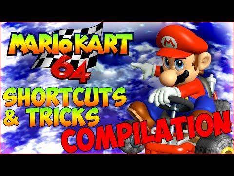 Mario Kart 64 Shortcuts, Tricks & Glitches Compilation