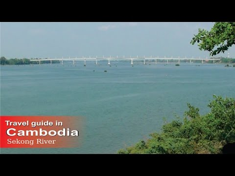 How to travel - Cambodia (Sekong River in Krong Stung Treng Cambodia).