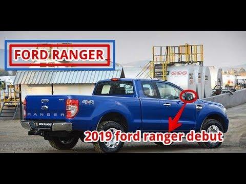 2019 ford ranger debut