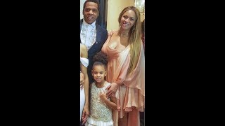 Beyoncé, JAY-Z & Blue at ‪Lawrence Parker's‬ wedding in New Orleans (VIDEO SNIPPET & PICS)