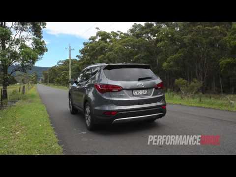 2015 Hyundai Santa Fe Elite CRDi 0 100km h engine sound