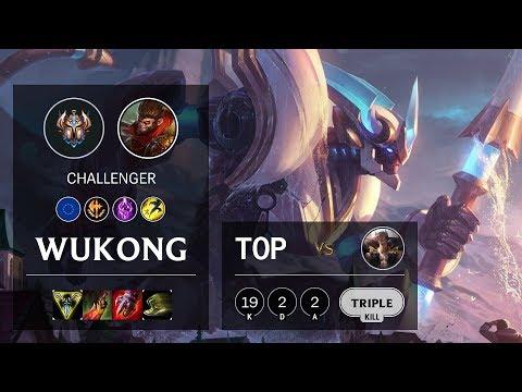Wukong Top vs Sett - EUW Challenger Patch 10.10