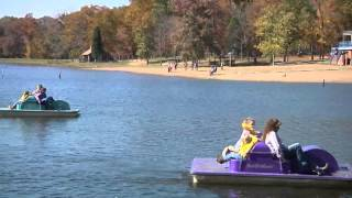 Scenic Paddle Boat Ride at Lincoln State Park