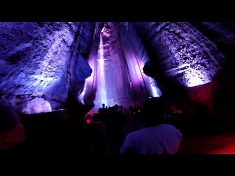 Ruby Falls Cave Waterfall - Lookout Mountain, TN GoPro 1080p 60fps
