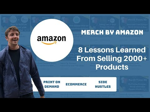 Merch By Amazon Lessons From Selling 2000 T-Shirts How To Win With Print On Demand