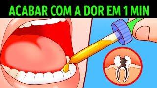10 Maneiras de Acabar com uma Dor de Dente em um Minuto