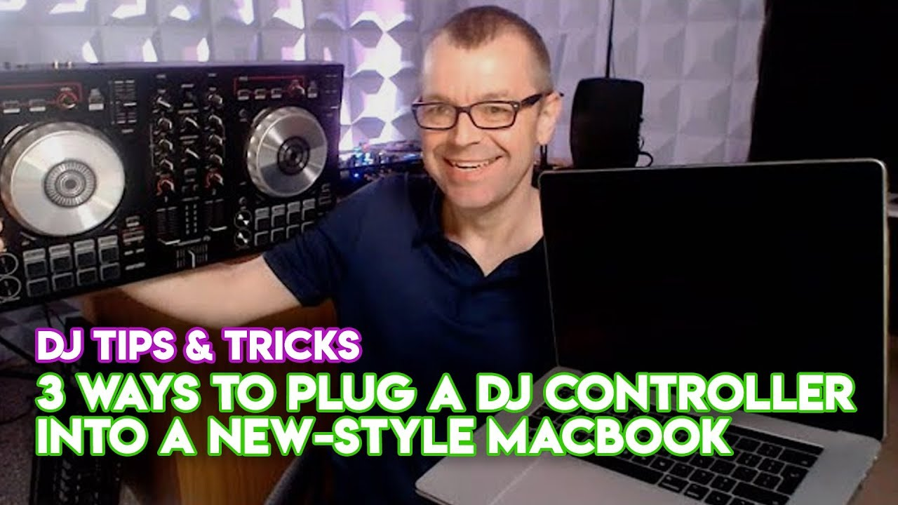3 Ways To Plug A DJ Controller Into A New-Style MacBook