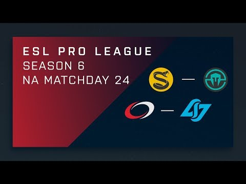 CS:GO: Splyce vs. Immortals | compLexity vs. CLG - Day 24 - ESL Pro League Season 6 - NA Main
