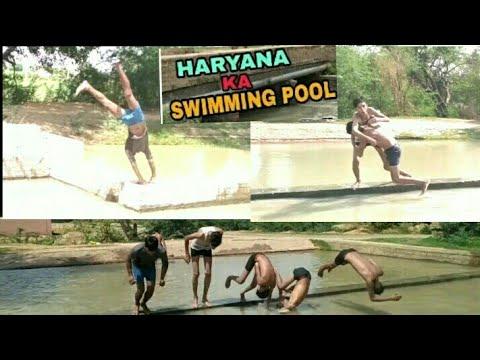 Haryana Ka swimming pool part 2/ nehar ki full masti//new haryanvi comedy video 2018// by hr idiots