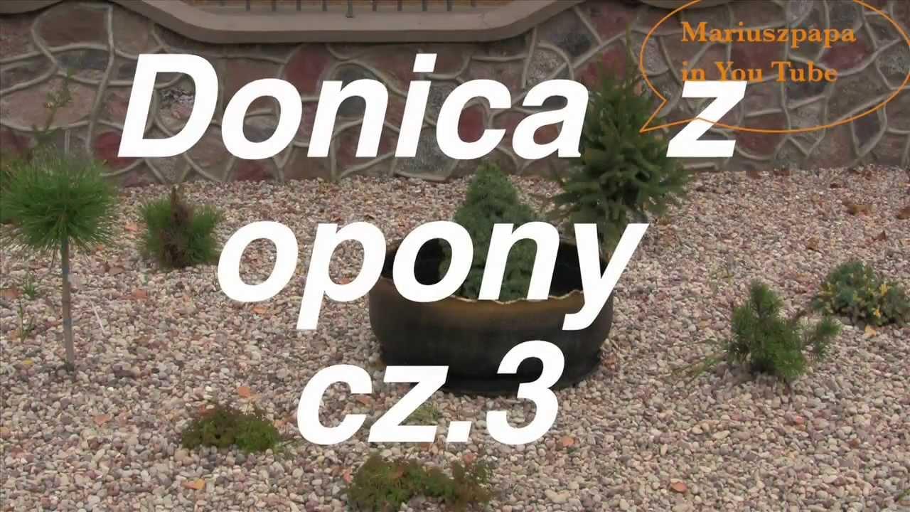 Jak Zrobić Donicę Kwietnik Z Opony Cz33