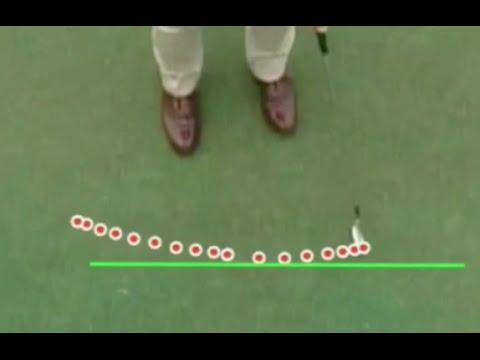 Putting Instruction Face Angle V Stroke Path Youtube