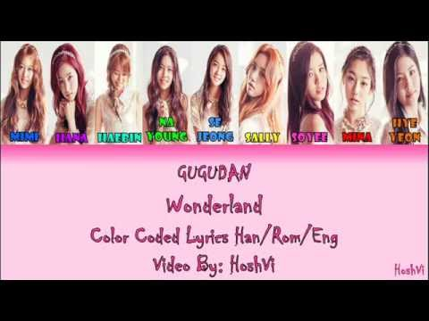 Gugudan -  Wonderland (ColorCoded Han/Rom/Eng Lyrics) l By:HoshVi