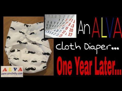 ALVA Cloth Diaper- 1 Year Later