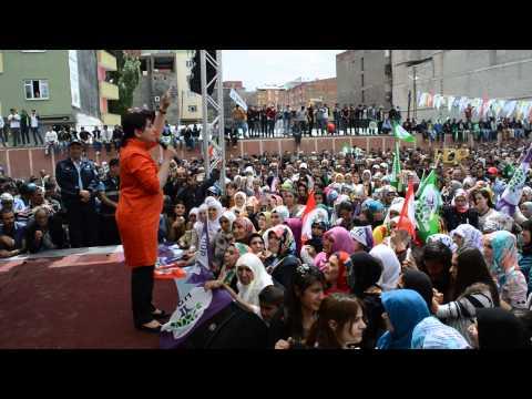 Leyla Zana Bazîd (Doğubeyazıt) Mitinginde Konuşuyor