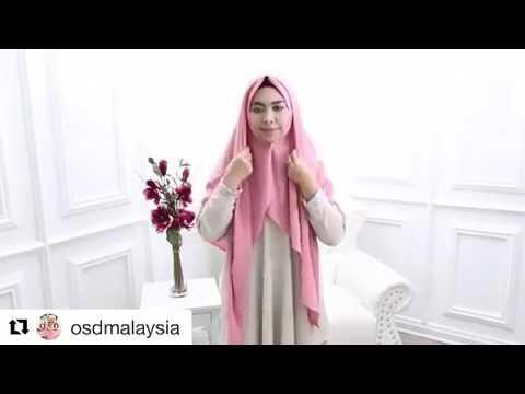 oki setiana dewi tutorial jilbab syar i segi empat 07 maret 2017