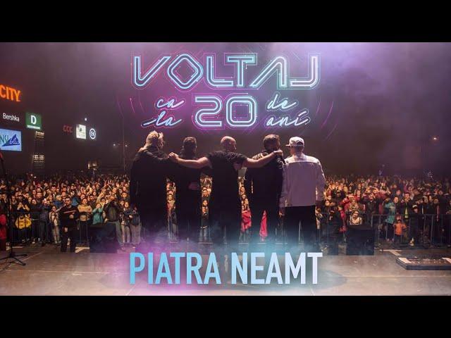 VOLTAJ - CA LA 20 DE ANI TOUR @PIATRA NEAMT