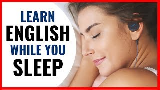 Learn English while you SLEEP - Fast vocabulary increase  - 学习英语睡觉 - -تعلم الانجليزية في النوم