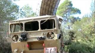 "Israeli ""Shilem"" Radar for Artilery fire control By Elta. Artillery Museum Israel -8"