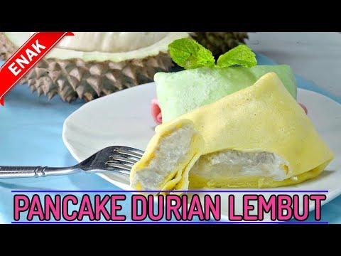 Anda Suka Durian Begini Cara Buat Pancake Durian Yang