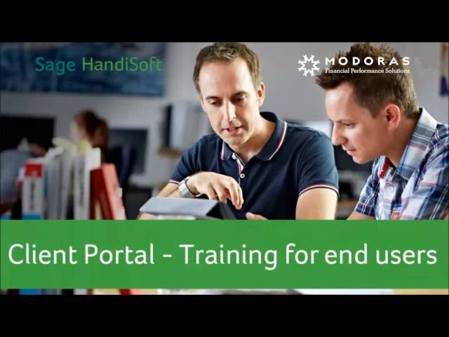 Modoras Accounting Client Portal Tutorial