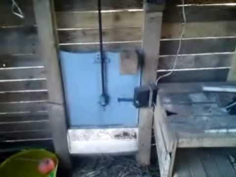 Porte Automatique De Poulailler YouTube - Porte automatique poulailler allemagne