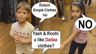 Karan Johar's kids Yash & Rooh…