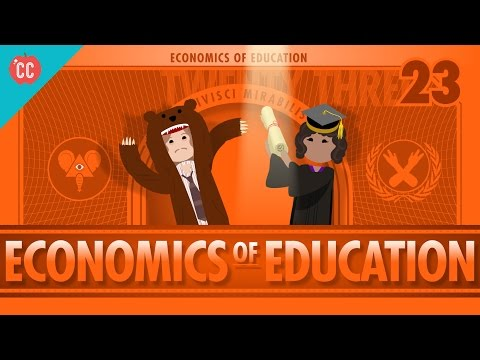 Economics of Education: Crash Course Economics #23