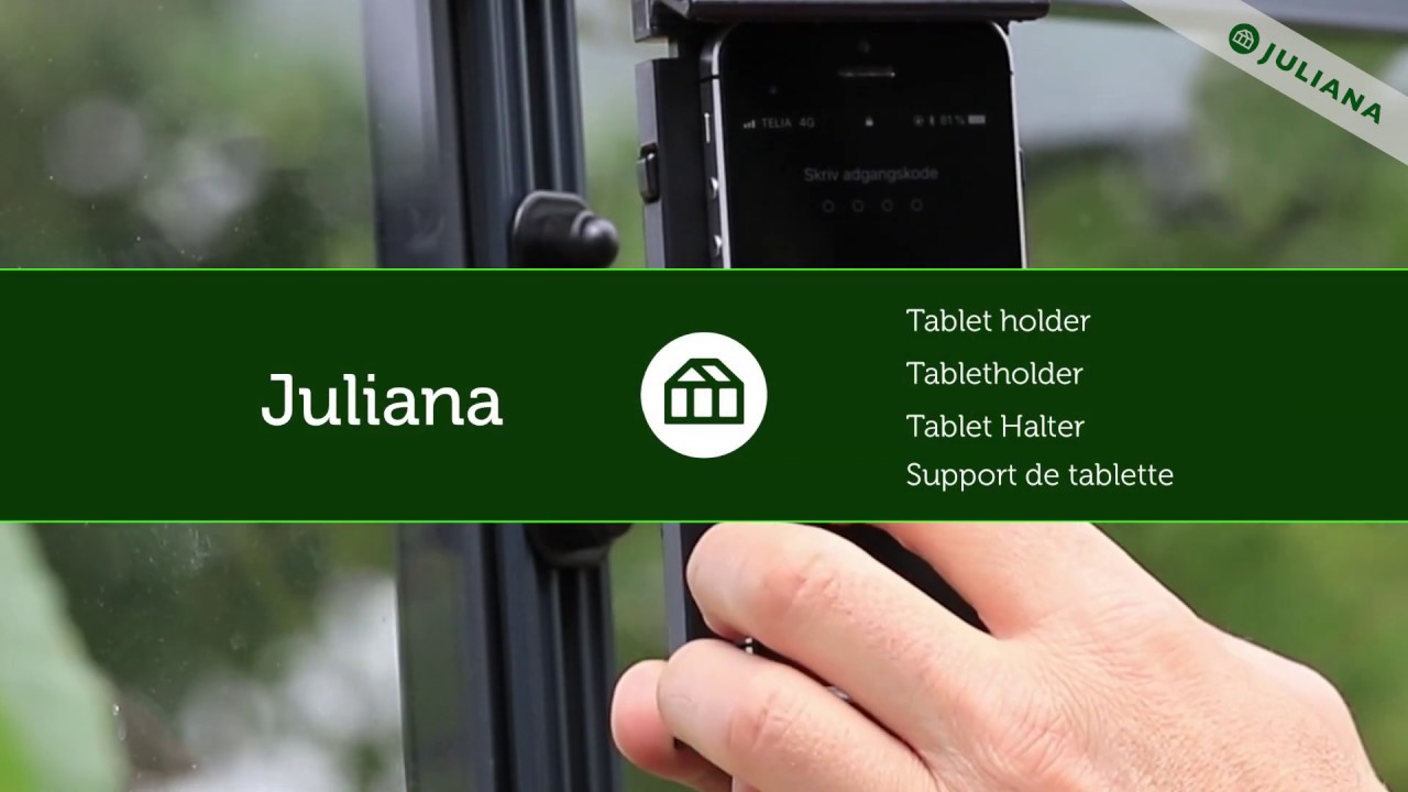 Greenhouse accessories • Tablet holder