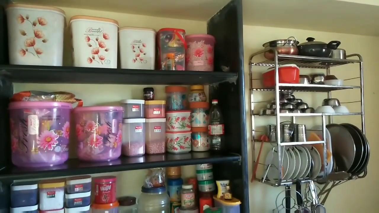 non modular kitchen organization /How to arrange kitchen without cabinet  /Some good tips