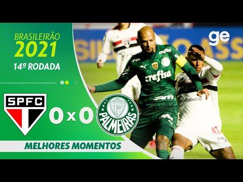Download SÃO PAULO 0 X 0 PALMEIRAS   MELHORES MOMENTOS   14ª RODADA BRASILEIRÃO  2021   ge.globo
